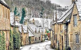 Cotswold in snow