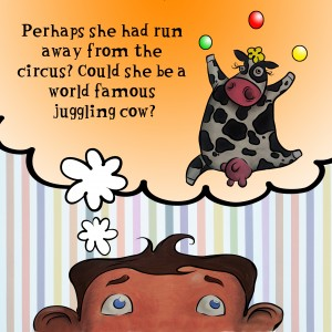 Juggling cow page 32