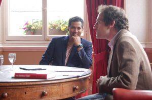 Sky News Reporter, Faisal Islam talks to Alex Sehmer