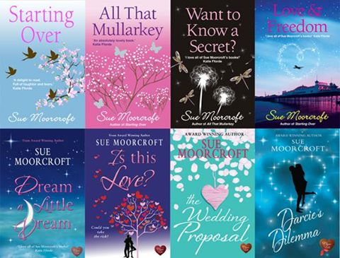 Sue Moorcroft covers
