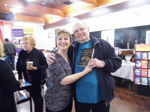 TJ Book signing at Pontyclun book fair
