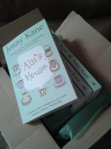 Abi House paperback box