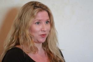 Crime writer Clare Donoghue