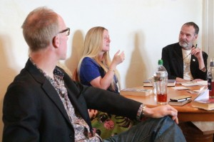 Simon Hall and Nicola Upson chat to Paul Mortimer