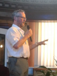 Michael Jecks talks about the quirky side of writing at The Oak Room