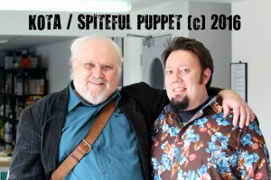 Colin Baker and Barnaby