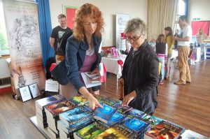 Story Competition winner Hazel Prior talks to Angie Sage